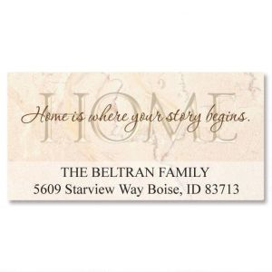 Your Story  Deluxe Address Labels