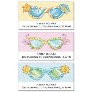 Fun Sunglasses Deluxe Address Labels  (3 Designs)
