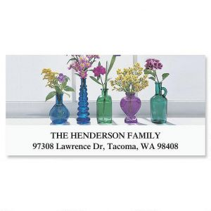 Blue Bottles Deluxe Address Labels