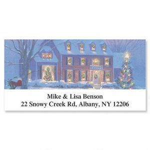 Noel Holiday Deluxe Address Labels