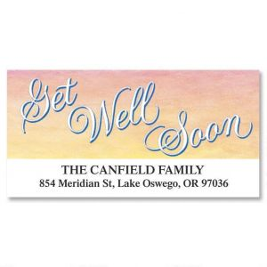 Get Well Deluxe Address Labels