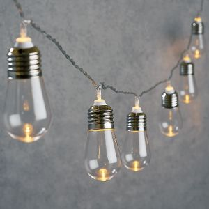 8-Foot String of Edison-Style Bulbs