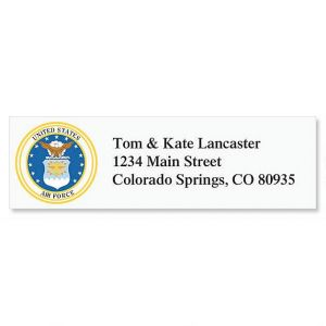 Air Force Classic Address Labels