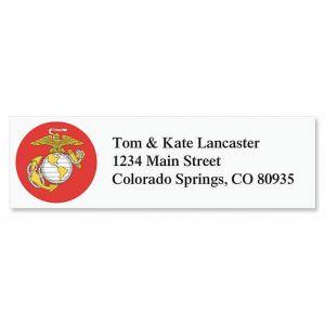 Marine Corps Classic Address Labels