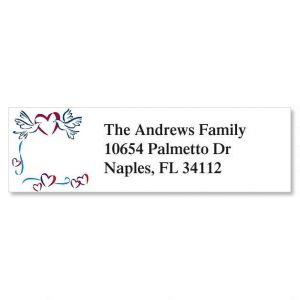 Sweet Doves Classic Address Labels