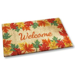 Welcome Autumn Coir Mat