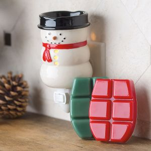 Pluggable Fragrance Snowman & Wax Melts