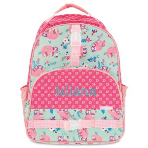 All Over Sloth Print Backpack by Stephen Joseph®
