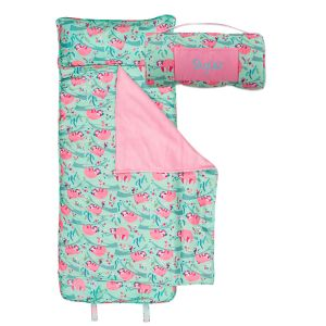 Personalized Pink Sloth Print Napmat by Stephen Joseph®