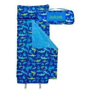 All-Over Shark Custom Print Nap Mat by Stephen Joseph®