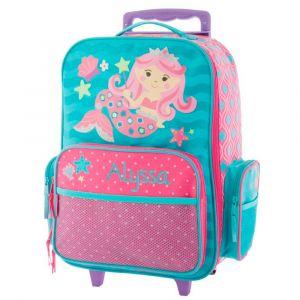 "Custom 18"" Mermaid Rolling Luggage by Stephen Joseph®"