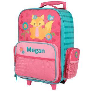 "Fox 18"" Custom Rolling Luggage by Stephen Joseph®"