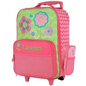 "Custom 18"" Flower Rolling Luggage by Stephen Joseph®"