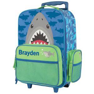 "Custom 18"" Shark Rolling Luggage by Stephen Joseph®"