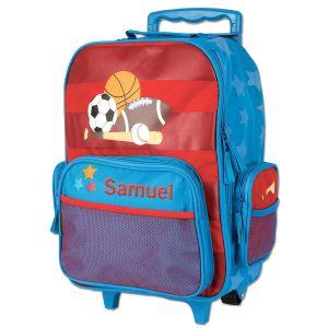 "Custom 18"" Sports Rolling Luggage by Stephen Joseph®"