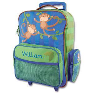 "Custom 18"" Monkey Rolling Luggage by Stephen Joseph®"