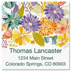 Bloom Square Labels