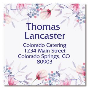 large square address labels by type address labels colorful images