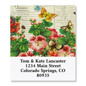 Spring Diary Select Return Address Labels
