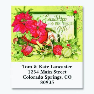 Abundant Friendship Select Return Address Labels