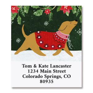 Cozy Christmas Select Return Address Labels
