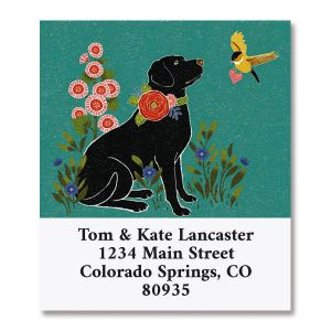 Cats and Dogs Select Address Labels  (4 Designs)