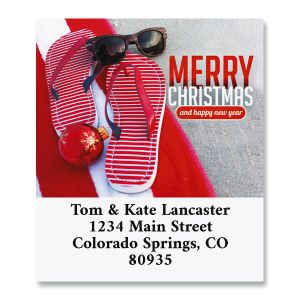 Sunny Holiday Select Return Address Labels