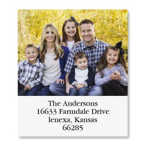 Select Photo Return Address Label
