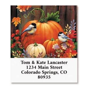 Cornucopia Crate Select Return Address Labels