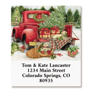Christmas Delivery Select Return Address Labels (4 Designs)