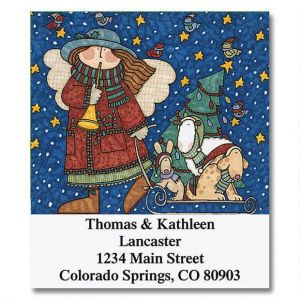 Sue Dreamer's Sleigh Ride Home Select Address Labels