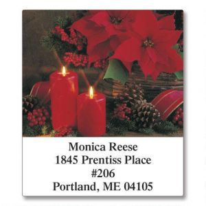 Photo Floral  Select Address Labels