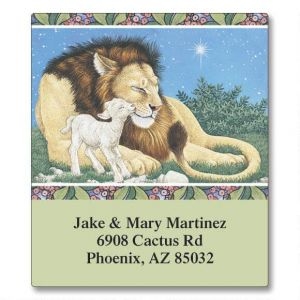 Lion & Lamb Select Address Labels
