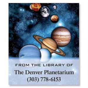 Space Bookplates