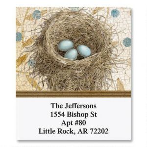 Blue Nest Select Address Labels