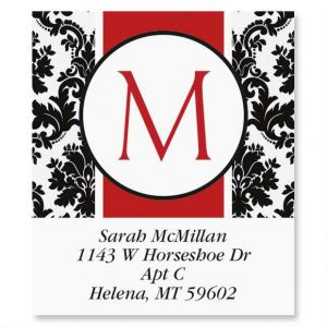 Alexandria Initial Select Address Labels