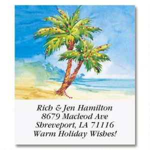 Holiday Paradise Select Address Labels