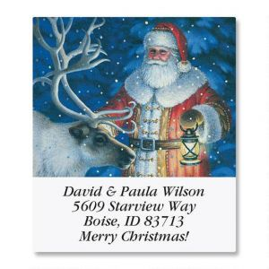 Christmas Wonderland Select Address Labels