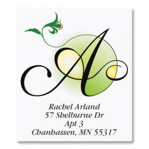 Sunlight Initial Select Address Labels