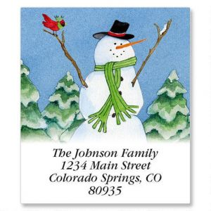 Our Fun Snow Family Select Address Labels