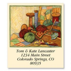 Knitting Select Address Labels