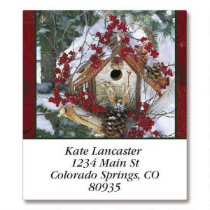 Winter Blessings  Select Address Labels