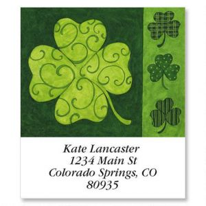 Clover Collage Select Address Labels