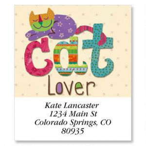 Cat Lover Select Address Labels