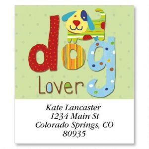 Dog Lover Select Address Labels