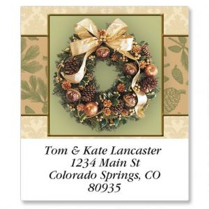 Wreath Magic Select Address Labels