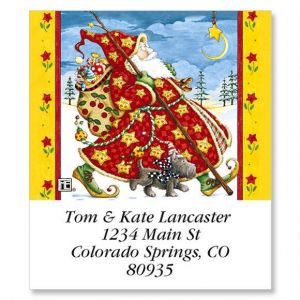 Check Cherry Santa Select Address Labels