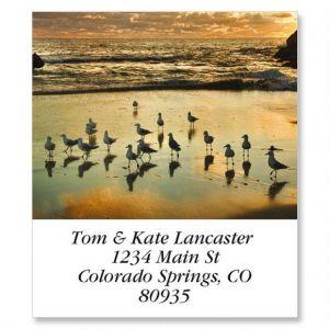 2 Rocks Sunset Select Address Labels