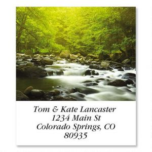 Mountain River  Select Address Labels