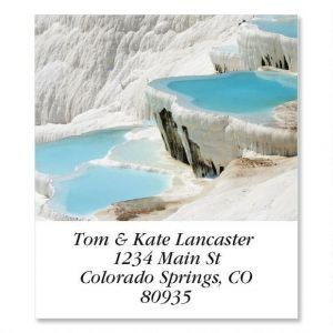 Pamukkale Basins  Select Address Labels